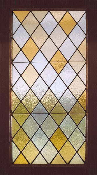 Age of elegance antique american arts and crafts stained glass window