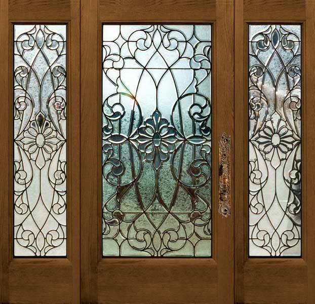 Age Of Elegance American Oversized Glue Chip Beveled Door