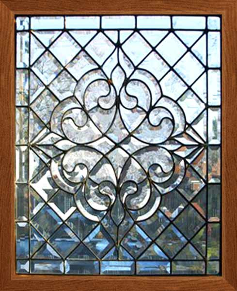 Age Of Elegance Antique Victorian Beveled Glass Window