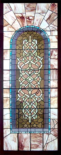 Age of elegance antique victorian stained glass window for Victorian stained glass window film