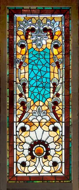 Age of elegance antique american stained glass for Victorian era windows